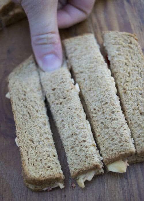 Prep the sandwiches