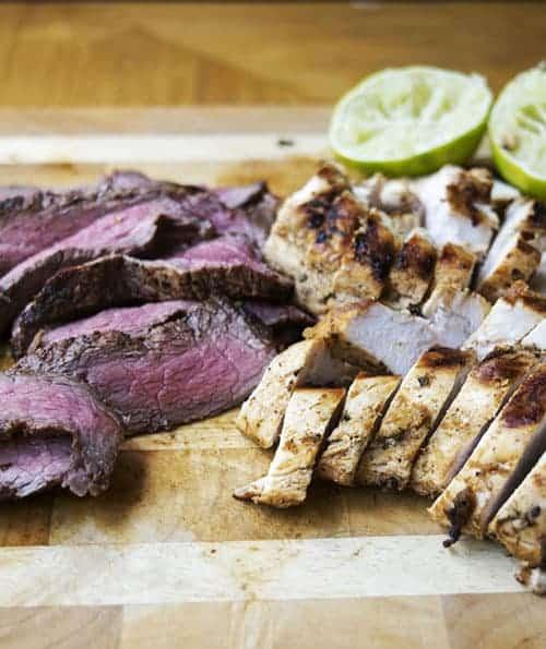 Chicken and Steak