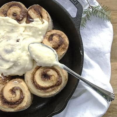 Freezer Friendly Cinnamon Rolls