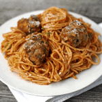 The Best Meatballs and Lighter Chicken Meatballs are staple recipes for any home cook. Talk about a classic recipe! Meatballs are great for appetizers, over spaghetti, or in a sub. They are perfect for freezing, and make any weeknight dinner a breeze!