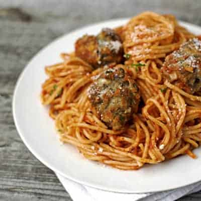 The Best Meatballs and Lighter Chicken Meatballs