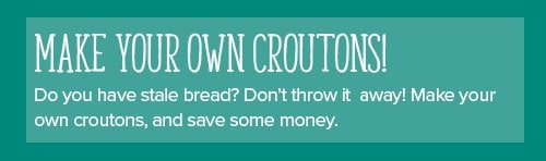 Make Your Own Croutons!