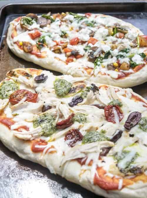 Grilled Vegetable Pizza on the Grill is easier than you think to make! This simple dinner recipe is great for any summer cook out. Have fun and get creative with your pizza toppings.