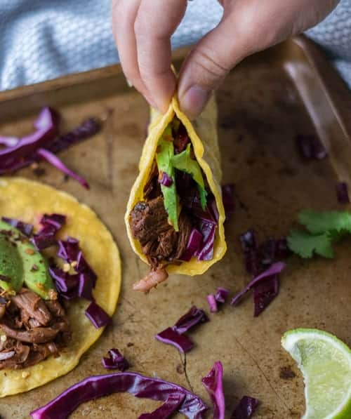 Take a bite out of these Vegan Barbecue Tacos