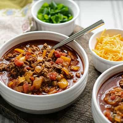 Simple Keto Chili