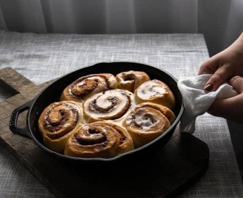 Freezer Friendly Cinnamon Rolls