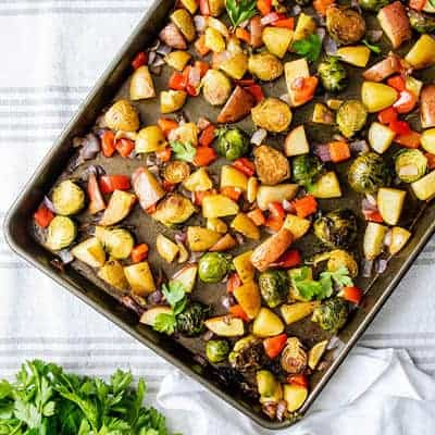 Easy Roasted Breakfast Vegetables