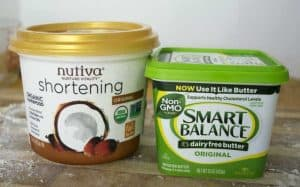 vegan butter and shortening