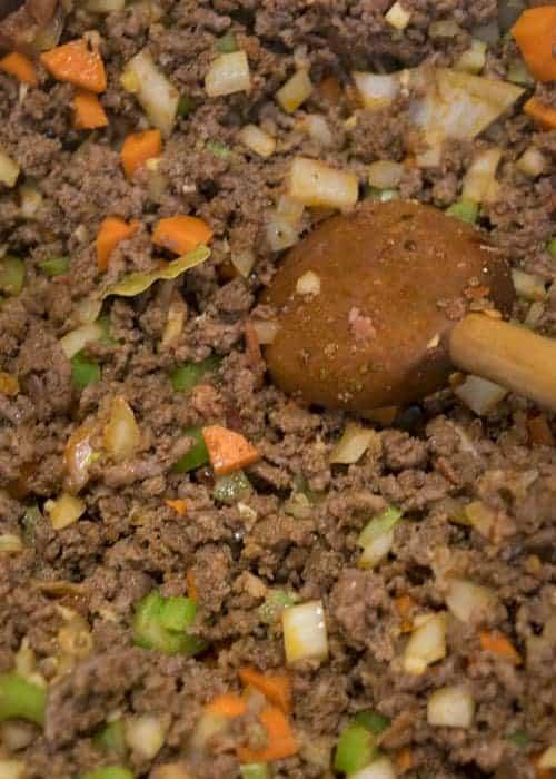 meat and vegeatbles