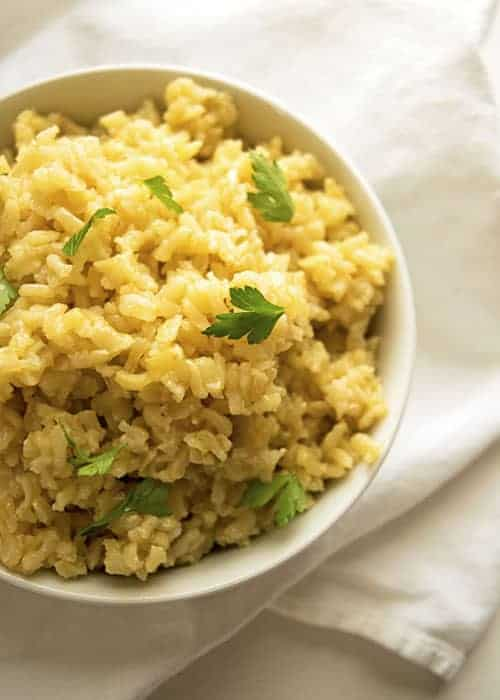 All-Purpose Brown Rice is a perfect side dish. It is a staple, and pairs perfectly with beans. Make a big batch and keep in for easy week night dinners.