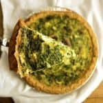 Mash Up Quiche is great for using up leftovers. This easy recipe is one of my favorites. | The Hungry Waitress