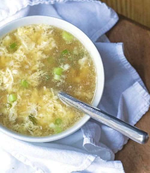 Healing Egg Drop Soup is an easy meal for those bitter cold days. This healthy recipe is packed with protein and healing properties. It's a great recipe for when you are feeling under the weather.