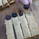 Creepy Finger Sandwiches