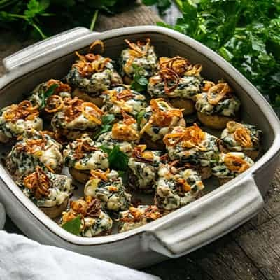 Keto Stuffed Mushrooms