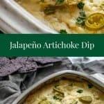 Jalapeno Artichoke Dip